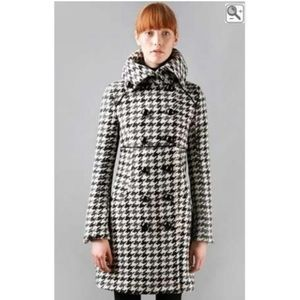 Soia & Kyo houndstooth Canadian Jackie O coat